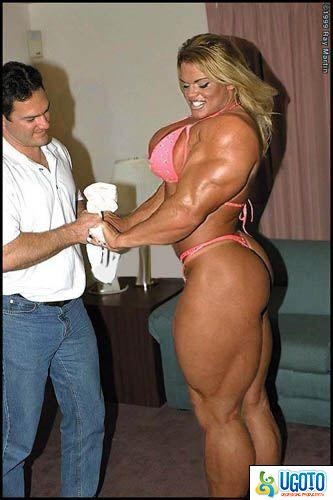 ... as I am a girl and don't want to be HUGE. :) muscle woman. reply